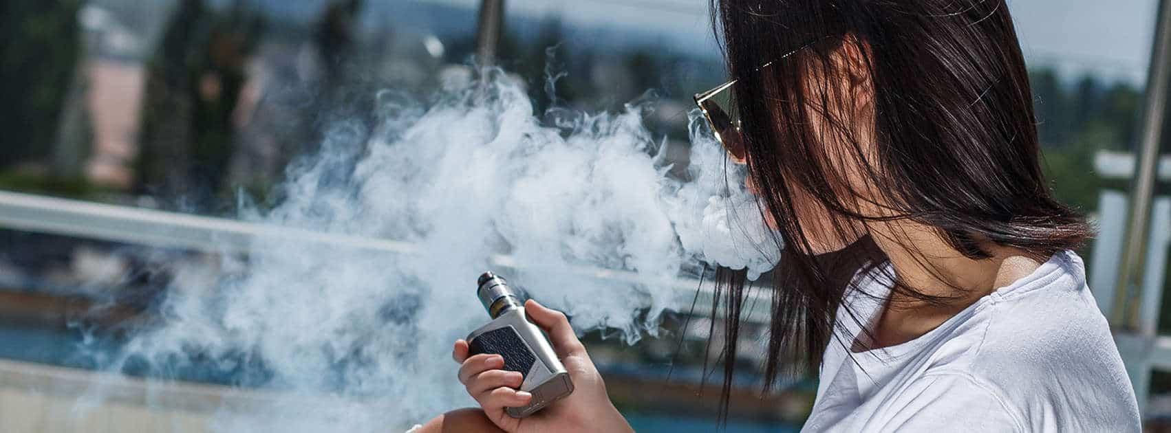vapeurs e-cigaret