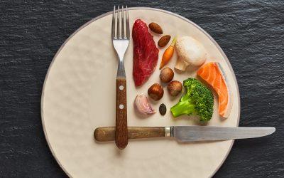 vasten dieet concept