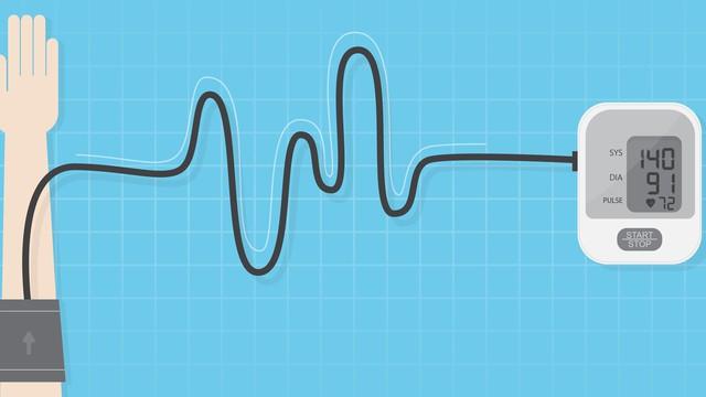 dessin d'un tensiomètre