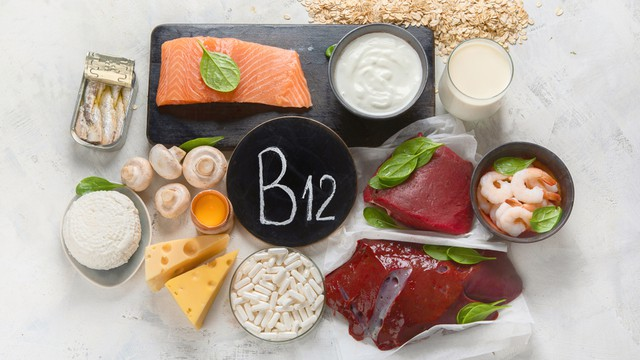vitamine B12 dans les aliments