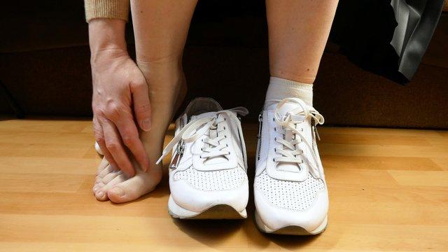 pieds douloureux