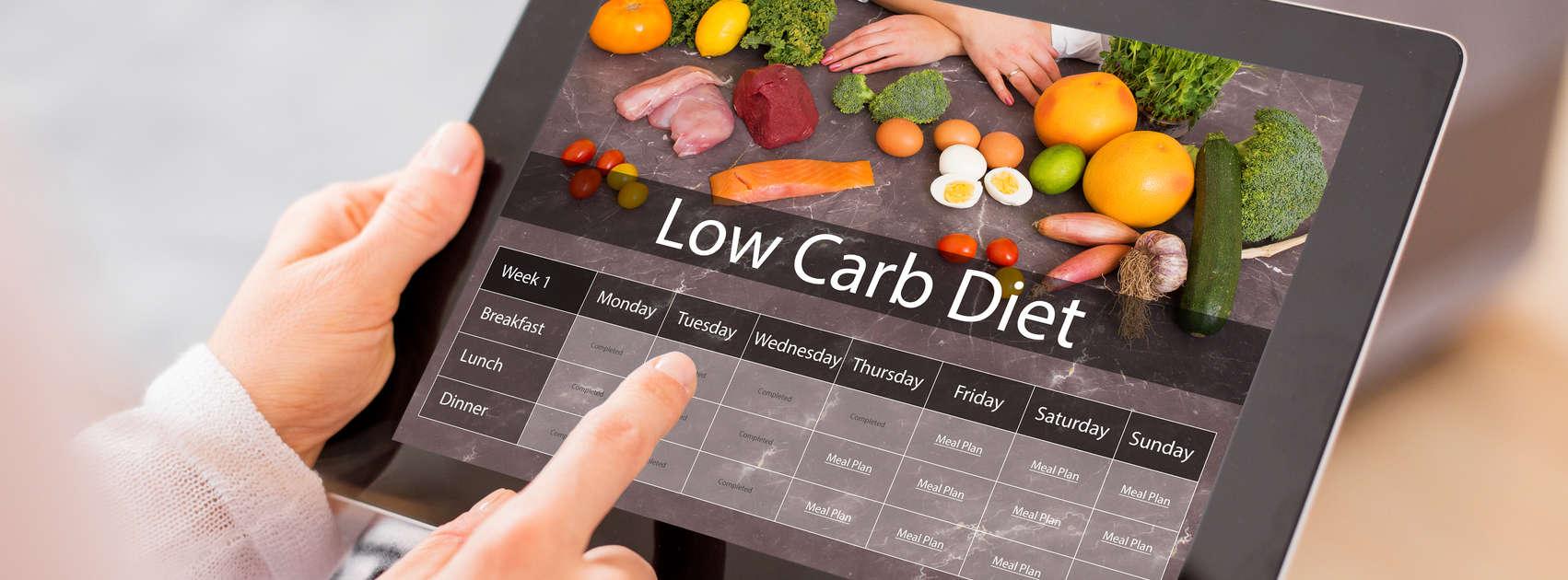 Een koolhydraatarm dieet volgen