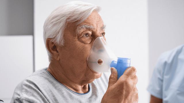 man met COPD